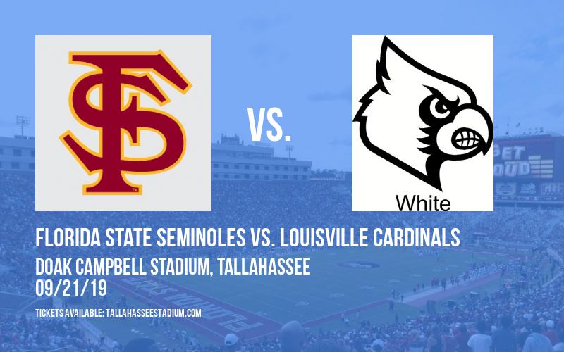 Florida State Seminoles vs. Louisville Cardinals at Doak Campbell Stadium