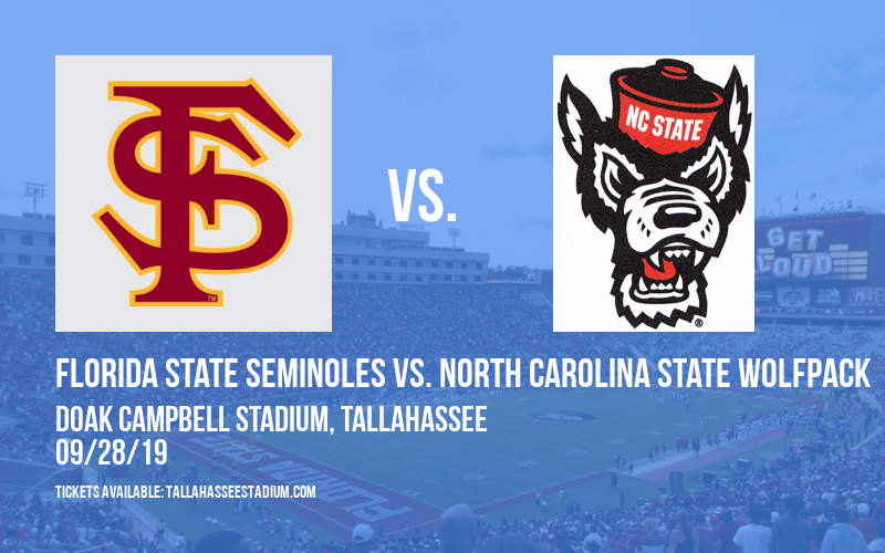 Florida State Seminoles vs. North Carolina State Wolfpack at Doak Campbell Stadium