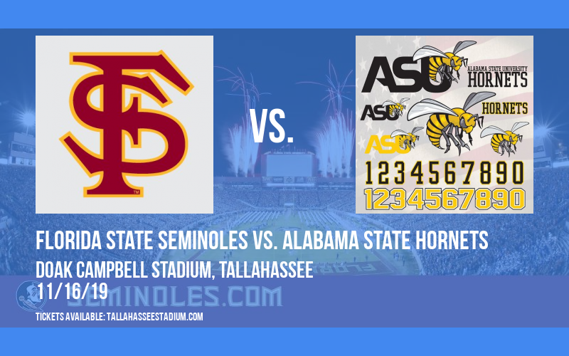 PARKING: Florida State Seminoles vs. Alabama State Hornets at Doak Campbell Stadium
