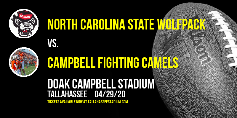 North Carolina State Wolfpack vs. Campbell Fighting Camels at Doak Campbell Stadium