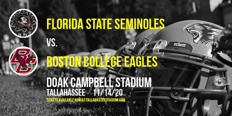 Florida State Seminoles vs. Boston College Eagles at Doak Campbell Stadium