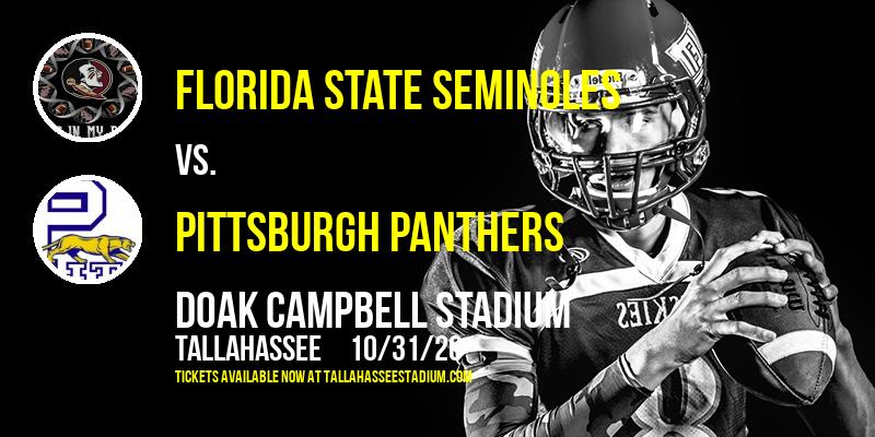 Florida State Seminoles vs. Pittsburgh Panthers at Doak Campbell Stadium
