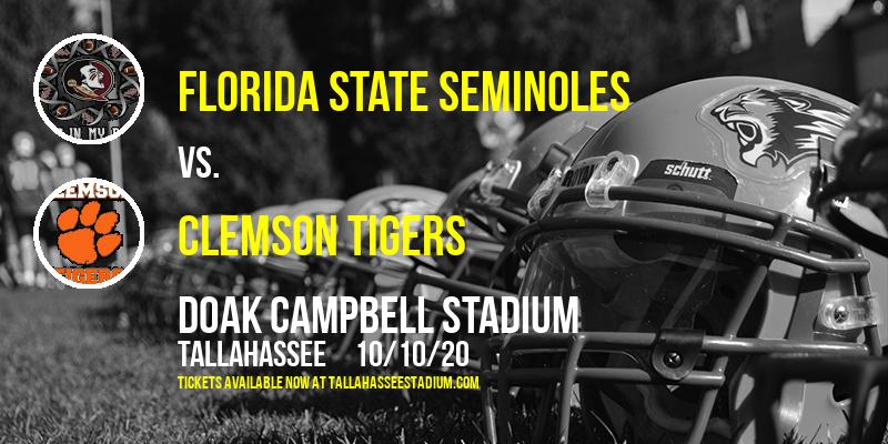 Florida State Seminoles vs. Clemson Tigers at Doak Campbell Stadium