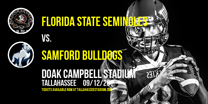 Florida State Seminoles vs. Samford Bulldogs at Doak Campbell Stadium