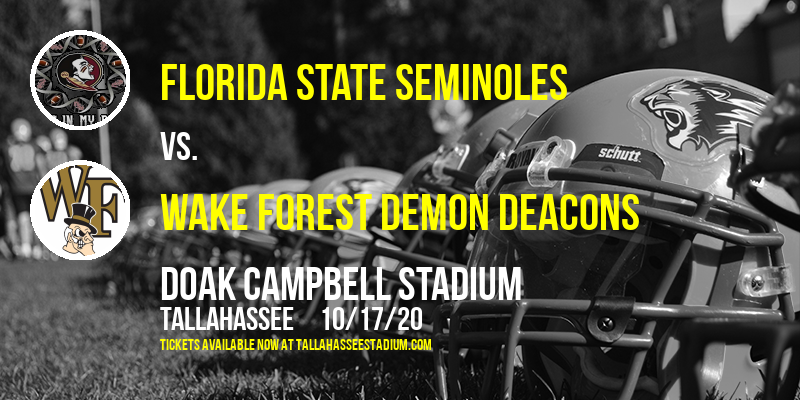 Florida State Seminoles vs. Wake Forest Demon Deacons [CANCELLED] at Doak Campbell Stadium