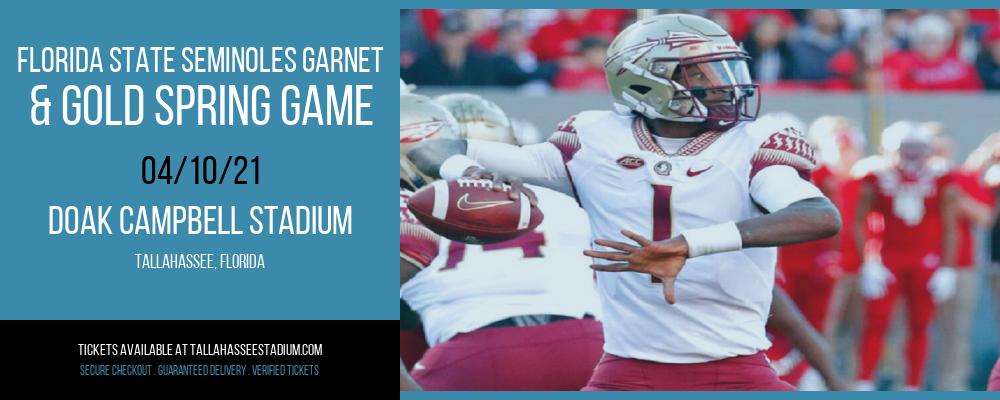 Florida State Seminoles Garnet & Gold Spring Game at Doak Campbell Stadium