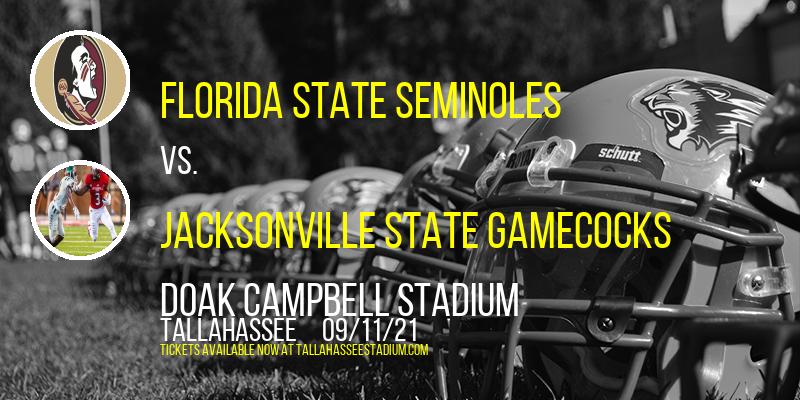 Florida State Seminoles vs. Jacksonville State Gamecocks at Doak Campbell Stadium