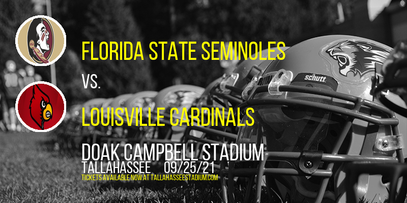 Florida State Seminoles vs. Louisville Cardinals at Doak Campbell Stadium