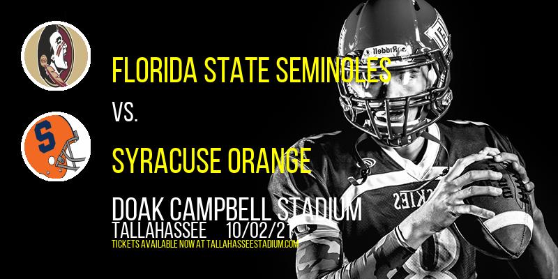 Florida State Seminoles vs. Syracuse Orange at Doak Campbell Stadium