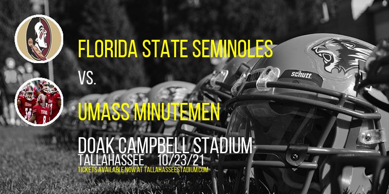 Florida State Seminoles vs. UMass Minutemen at Doak Campbell Stadium