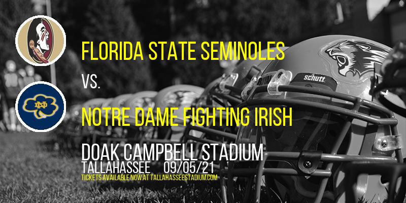 Florida State Seminoles vs. Notre Dame Fighting Irish at Doak Campbell Stadium